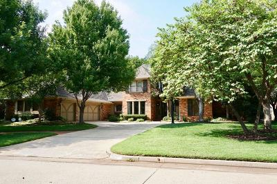 Oklahoma City OK Single Family Home For Sale: $549,500