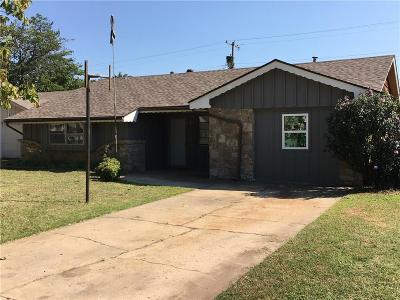 Oklahoma City Single Family Home For Sale: 6108 NW 24th Street