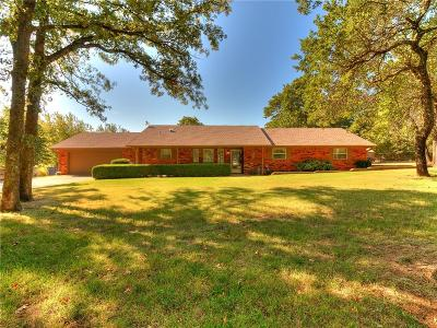 Choctaw Single Family Home For Sale: 17898 Tall Oak Road