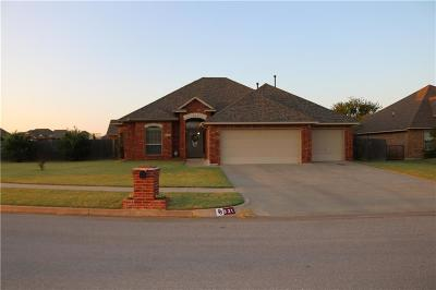 Moore Single Family Home For Sale: 821 Carol Ann Place