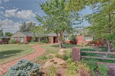 Nichols Hills OK Single Family Home For Sale: $650,000