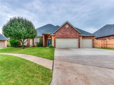 Edmond Single Family Home For Sale: 16112 Cattail Circle