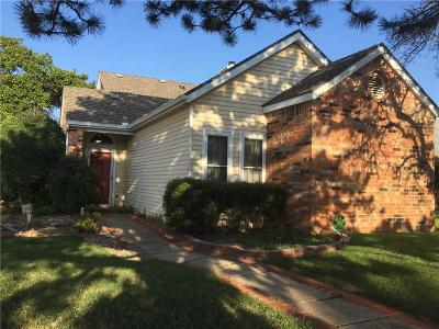 Midwest City Condo/Townhouse For Sale: 1323 E Timberview