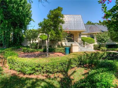 Nichols Hills OK Single Family Home For Sale: $725,000