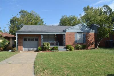 Oklahoma City Single Family Home For Sale: 2513 NW 34th Street