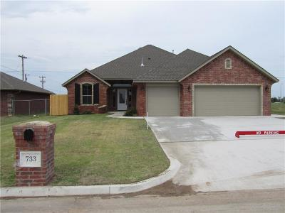Moore Single Family Home For Sale: 733 SW 11th Street