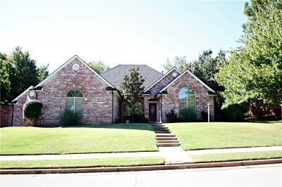 Edmond Single Family Home For Sale: 708 Hollowdale