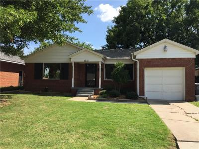 Oklahoma City Single Family Home For Sale: 1312 Downing Street
