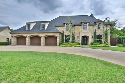 Nichols Hills OK Single Family Home For Sale: $1,900,000