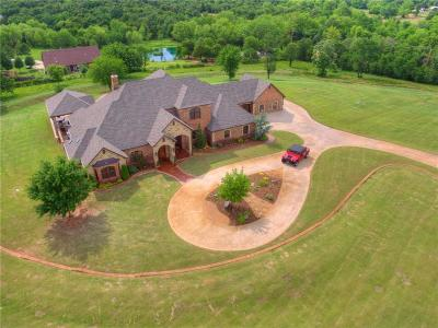 Newalla OK Single Family Home For Sale: $899,900