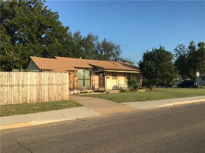 Oklahoma City OK Single Family Home For Sale: $60,000