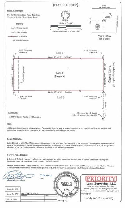 Amber Residential Lots & Land For Sale: 8 Clover Lane