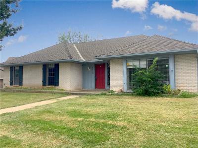 Oklahoma City Single Family Home For Sale: 6416 Ellen Lane