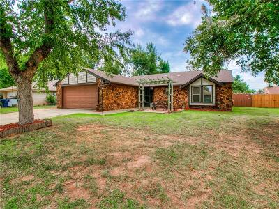 Oklahoma City Single Family Home For Sale: 8908 Kenny Circle