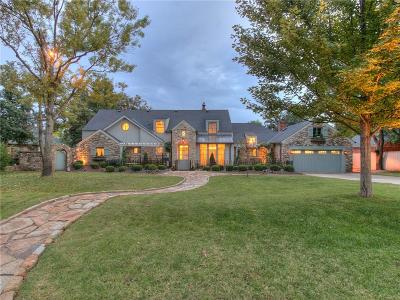 Nichols Hills OK Single Family Home For Sale: $1,850,000
