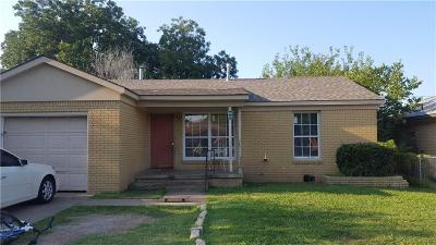 Oklahoma City Single Family Home For Sale: 1113 SW 52nd Street