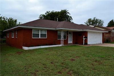 Del City Single Family Home For Sale: 3224 SE 24th Street