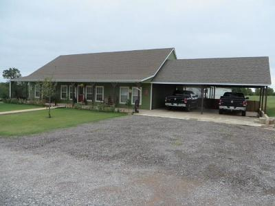 Ninnekah Single Family Home For Sale: 1191 County Road 1420