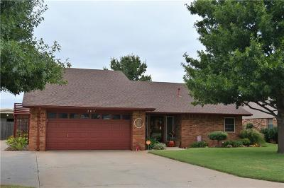 Elk City Single Family Home For Sale: 207 Maple