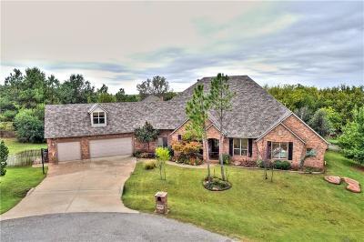 Edmond Single Family Home For Sale: 23250 Hunters Spring