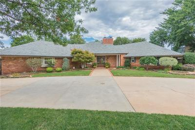 Oklahoma City Single Family Home For Sale: 3301 Hickory Stick Road