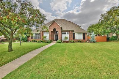 Edmond Single Family Home For Sale: 1001 N Teeside Boulevard