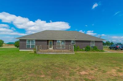 Tuttle Single Family Home For Sale: 1472 County Road 1190
