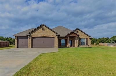 McLoud Single Family Home For Sale: 9121 Conners Way