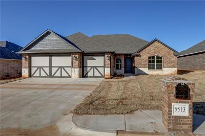 Warr Acres Single Family Home For Sale: 5513 Painted Pony