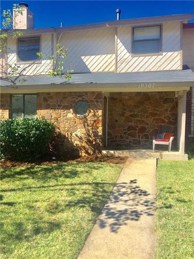 Oklahoma County Condo/Townhouse For Sale: 10507 White Oak Canyon Rd