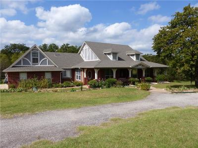 Newalla Single Family Home For Sale: 5201 S Luther Road