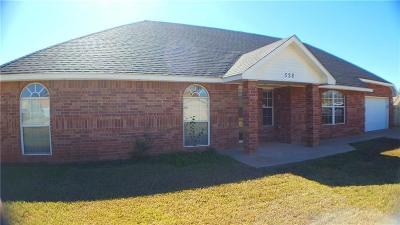 Mustang Single Family Home For Sale: 528 E Katelyn