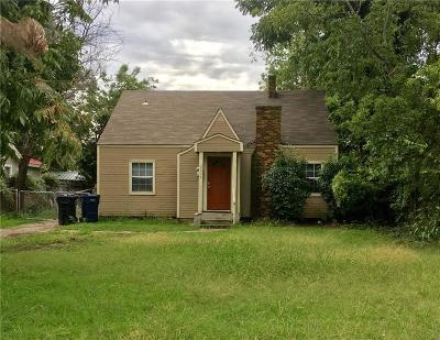Oklahoma City Rental For Rent: 3628 NW 18th Street
