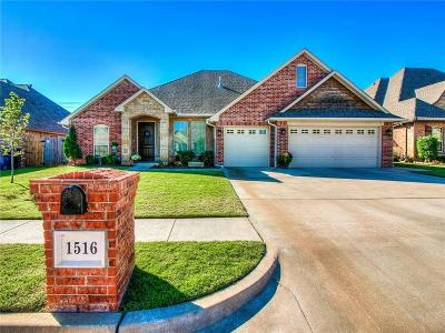 Edmond Single Family Home For Sale: 1516 NW 172nd Street