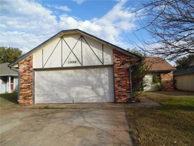 Yukon OK Single Family Home For Sale: $99,900