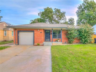 Oklahoma City Single Family Home For Sale: 3825 NW 18th Street