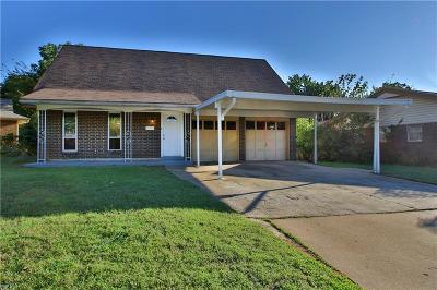 Oklahoma City Single Family Home For Sale: 3508 SE 45th Street