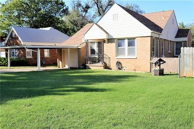 Oklahoma City Single Family Home For Sale: 3309 NW 26th