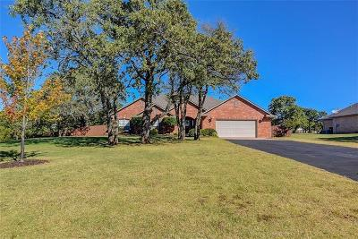 Blanchard Single Family Home For Sale: 415 Persimmon Ridge Road
