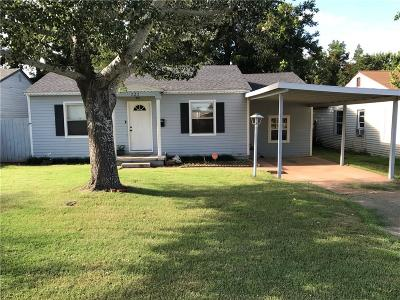 Elk City Single Family Home For Sale: 222 E Country Club