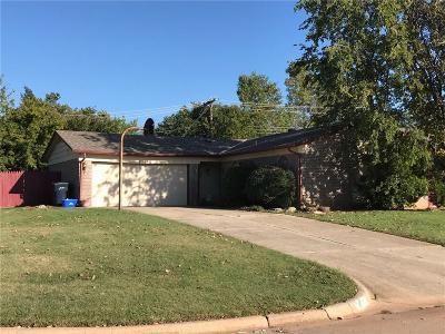 Oklahoma City Single Family Home For Sale: 11216 N Blackwelder Avenue