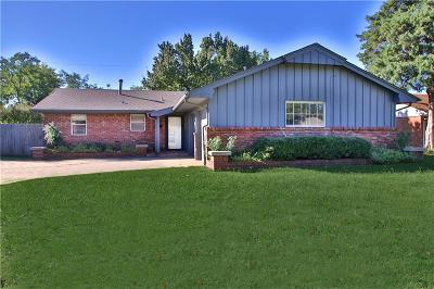 Oklahoma City Single Family Home For Sale: 3012 Abbey Road