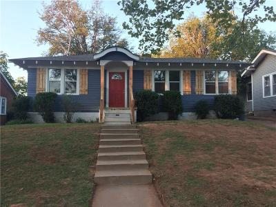 Oklahoma City Single Family Home For Sale: 821 NW 35th Street