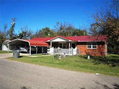 Wewoka OK Single Family Home For Sale: $78,500