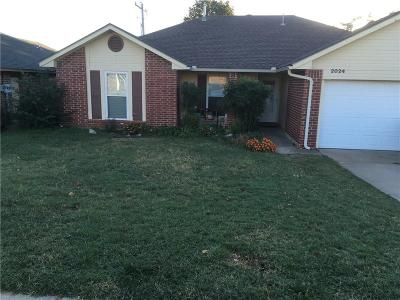 Midwest City OK Single Family Home For Sale: $138,900