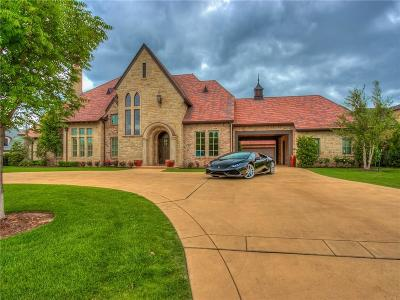 Oklahoma City OK Single Family Home For Sale: $1,570,000