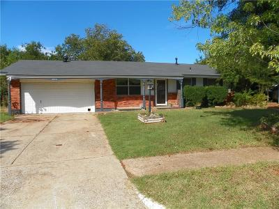 Del City Single Family Home For Sale: 3413 Eastwood Circle