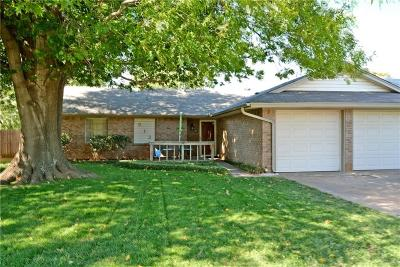 Edmond Single Family Home For Sale: 913 Mercury Road