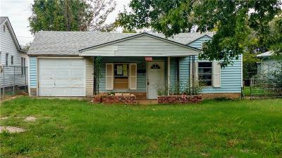 Oklahoma City OK Single Family Home For Sale: $14,900