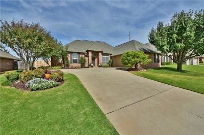 Edmond Single Family Home For Sale: 121 Amberwood